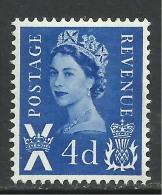 Scotland GB 1967 QE2 4d Dp Brt Blue Umm SG  S 8... ( L980 ) - Regional Issues