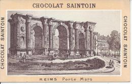 CHROMO - CHOCOLAT SAINTOIN - REIMS - Porte Mars - Chocolat