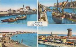 34 - Souvenir De PALAVAS  (Ed. Narbo, Toulouse) - Palavas Les Flots