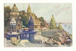 Cp, Indes, Benares, Voyagée 1907 - Inde