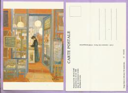 Peinture De R M HEAULME - Exposition : La Vie En 1900 Dans Les Communes Rurales Du Maine Et Loire - Pintura & Cuadros