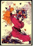 VilboCard  Villeroy & Boch Keramik-Postkarte  -  Für Sie  /  Design : Boddenberg  - Kachel - Fliese - Schöne Künste