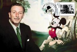 Spain 2013 - The World Of Cinema -  Walt Disney Maxicard - Film