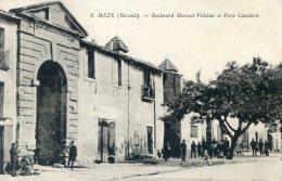 MEZE - Boulevard Mareuil Villebois Et Porte Cavalerie - Mèze