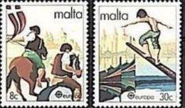 1981 - Malta 616/17 Cavalli^ - Horses