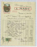 Marc, Place Du Salin à Toulouse, Papiers Peints, Peinture Et Décoration, Dpt 31 - Petits Métiers