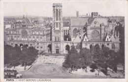 Cp , 75 , PARIS , Saint-Germain L'Auxerrois - Eglises