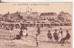 53te-Spiagge-Plages-Strände -Beaches-Trouville-Calvados-France -Nuova-Nouveau-New - Trouville