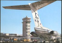 SLOVENIA LJUBLJANA AIRPORT AIRPLANE ADRIA AIRLINES POSTCARD - Aérodromes