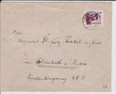 REICH  - 1935  - ENVELOPPE De MAINZ à OFFENBACH - Alemania