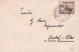 REICH  - 1937  - ENVELOPPE De FRANKFURT ( MAIN ) - Alemania
