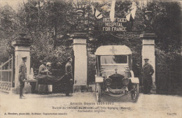 55 REVIGNY  GRANDE GUERRE 1914-1917 ENTREE  DU CHATEAU DU VIEUX MANOIR - Revigny Sur Ornain
