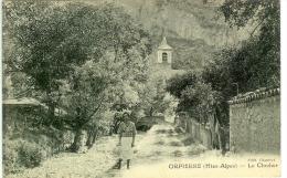 ORPIERRE  LE CLOCHER - France