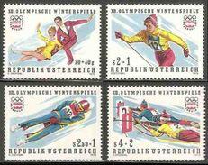 Oostenrijk Austria Österreich 1975 Mi 1499 /2 YT 1328 /1 ** Winter Olympic Games, Insbrück (1976) / Winterspiele - Winter 1976: Innsbruck