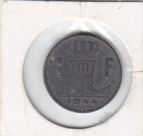 1 Franc Zinc Léopold III 1944 FL/FR - 07. 1 Franco