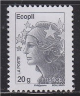 Marianne Beaujard Gommée Ecopli, Sans Phosphore, N°4565a Neuf - 2008-13 Marianne De Beaujard