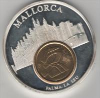 Belle Médaille De La Cathédrale De Palma De Majorque..espagne - Espagne