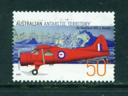 AUSTRALIAN ANTARCTIC TERRITORY - 2005 Aviation 50c Used As Scan - Used Stamps