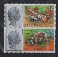 Aitutaki - 1975 Shells 2 And 5$ MNH__(TH-3963) - Aitutaki