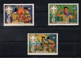 Aitutaki - 1983 Scouts Overprint MNH__(TH-2458) - Aitutaki