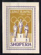 Albania - 1964 Tokyo Block MNH__(TH-1500) - Albanien