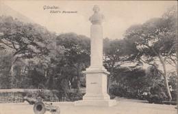 C1900 GIBRALTAR - ELIOTT'S MONUMENT - ED. BEANLAND MALIN - Gibraltar