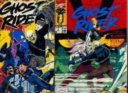 « Ghost Rider » -Marvel Comics - Lot De 5 Revues : Voir Images - Marvel