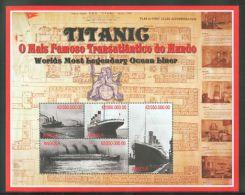 Angola - 1998 Titanic Kleinbogen MNH__(THB-966) - Angola