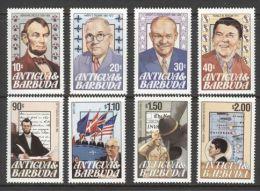 Antigua - 1984 Presidents Of The USA MNH__(TH-13298) - Antigua E Barbuda (1981-...)