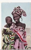 L´AFRIQUE EN COULEURS 1747 MERE ET ENFANT - Centrafricaine (République)