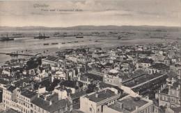 C1900 GIBRALTAR - TOWN AND COMMERCIAL MOLE - ED. BEANLAND MALIN - Gibraltar