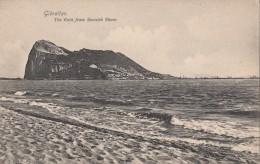 C1900 GIBRALTAR - THE ROCK FROM SPANISH SHORE  - ED. BEANLAND MALIN - Gibraltar