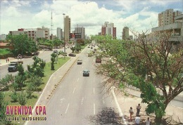 Brazil, Mato Grosso, Cuiaba, Avenida CPA,Ed.Postais Do Brasil Ref 15                             [30439] - Cuiabá