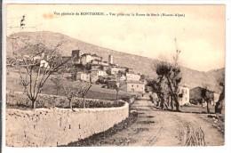 MONTMORIN  VUE PRISE SUR LA ROUTE DE BRUIS - France