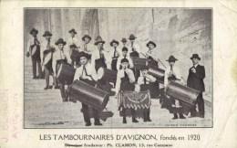 ( 84 ) AVIGNON . Les Tambourinaires D´Avignon.fondé En 1920 - Avignon