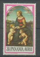 Panama 1968 Paintings Raphael - Raffael Stamp MNH - Arts