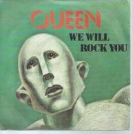 "45 Tours SP -  QUEEN  - EMI 60045   "" WE ARE THE CHAMPIONS "" + 1  ( 2ème Pochette ) - Otros - Canción Inglesa"