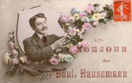 Un Bonjour Du 113 Boul. Haussmann - 1908 - - Ohne Zuordnung
