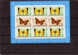 1978. BRITISH VIRGIN ISLAND, Butterfly MNH  M/S ** - Iles Vièrges Britanniques