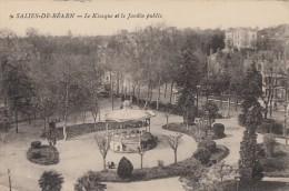 CPA - Salie De Béarn - Le Kiosque Et Le Jardin Public - Salies De Bearn
