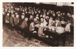 Postcard School Meals C1930 Children Lunch Dinner Nostalgia Repro - Schools