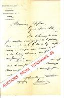 Lettre De 1868 - GAZETTE DE LIEGE 11 Place Verte à LIEGE - Ohne Zuordnung