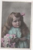 CPA Fantaisie - Enfants - Fillette - Portrait - Visage - Ritratti