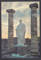 6.- 002 SPAIN POSTCARD. ROMAN CITY OF BAELO CLAUDIA IN HISPANIA. TRAIANUS EMPEROR. - Historia