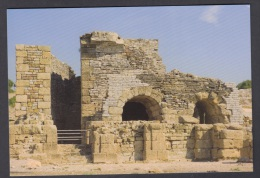 6.- 004 SPAIN POSTCARD. ROMAN CITY OF BAELO CLAUDIA IN HISPANIA.  THEATRE.  VAULT AND PARASCAENIA - Historia