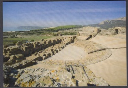 6.- 004 SPAIN POSTCARD. ROMAN CITY OF BAELO CLAUDIA IN HISPANIA.  THEATRE. - Historia