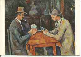 PAUL CAZANNE   THE CARD PLAYERS  OHL - Postkaarten