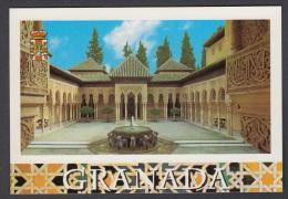 6.- 006 SPAIN POSTCARD GRANADA. ALHAMBRA. WORLD HERITAGE. - Granada