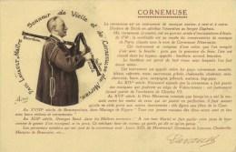 Paul  LAVAULT  Maître Sonneur De Vielle Et De Cornemuse Du Morvan . - People