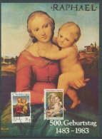 USA 1983 Paintings Raphael - Raffael Commemorative Maximumcard - Arts